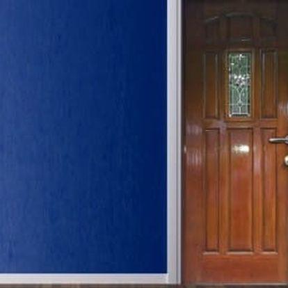 Živá dekorace na Dveře - vstupní