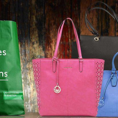 Kabelky italské módní značky Benetton