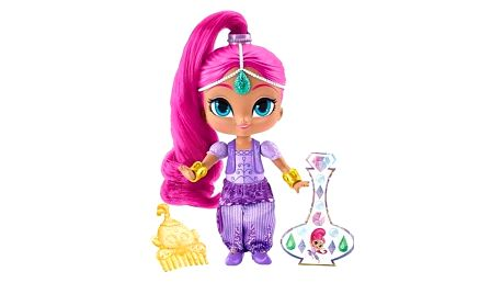 MATTEL Shimmer and Shine™ Základní panenka 15 cm – růžová