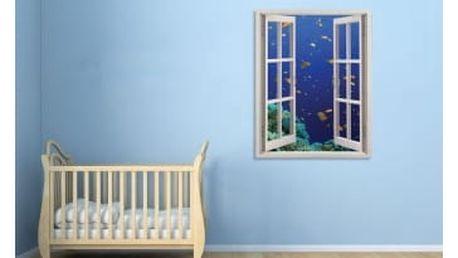 Živá dekorace na Okno - pod mořem