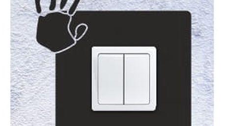 Smolepka na zeď Samolepka na vypínač - otisk dlaně