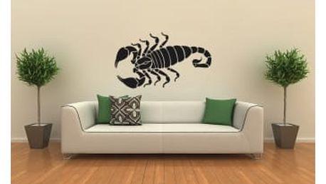 Smolepka na zeď Škorpion