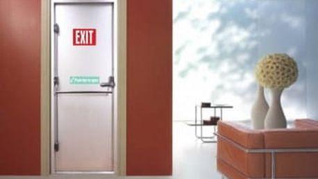Živá dekorace na Dveře - únikový východ