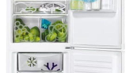 Kombinace chladničky s mrazničkou Zanussi ZRB36104WA bílá