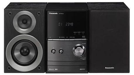 Mikrosystém Panasonic SC-PM600EG-K černá/hliník + dárek