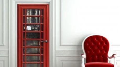 Živá dekorace na Dveře - telefonní budka