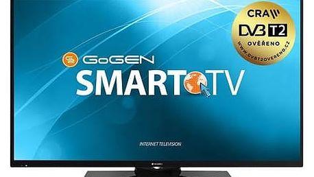 Televize GoGEN TVF 55N369 TWEB černá + Doprava zdarma