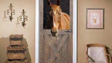 Živá dekorace na Dveře - od stáje