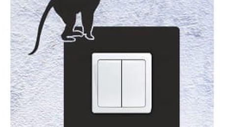 Smolepka na zeď Samolepka na vypínač - opice 2