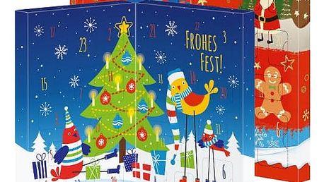 Kinder adventní kalenář stojací 127g