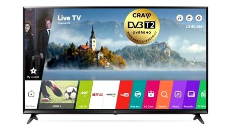 Televize LG 49UJ6307 černá