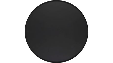 IB LAURSEN Kulatý podnos Black 40cm, černá barva, kov