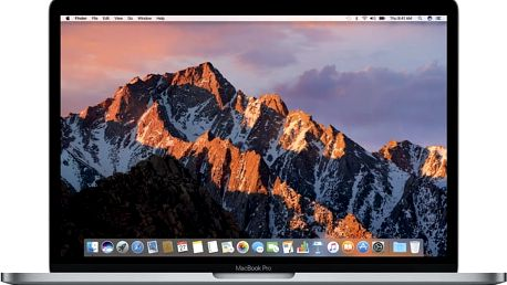 Apple MacBook Pro 13 Touch Bar, 3.1 GHz, 512 GB, Space Grey (2017) - MPXW2CZ/A