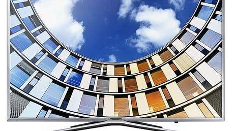 Televize Samsung UE55M5602 stříbrná + Doprava zdarma