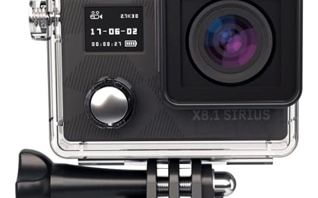 Outdoorová kamera Lamax X8.1 Sirius + dárek, černá