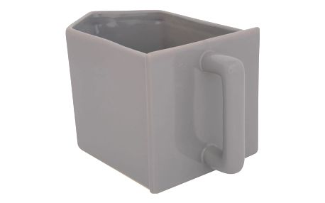IB LAURSEN Kuchyňský zásobník Mynte French grey, šedá barva, keramika