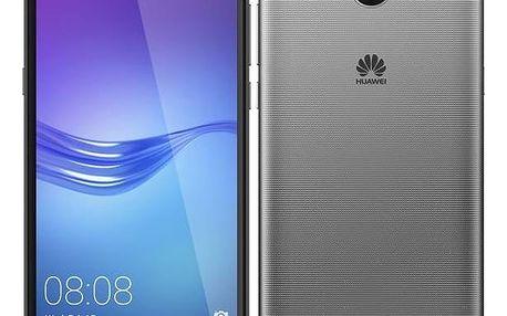 Mobilní telefon Huawei Y6 2017 Dual SIM (SP-Y617DSTOM) šedý Software F-Secure SAFE 6 měsíců pro 3 zařízení (zdarma) + Doprava zdarma