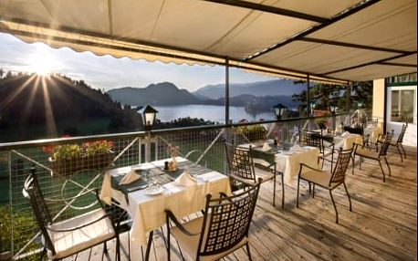 Neomezený wellness pobyt v 4* hotelu s výhledem na jezero Bled ve Slovinsku