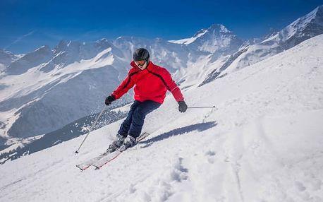Rakouské Alpy na zimu s polopenzí a saunou