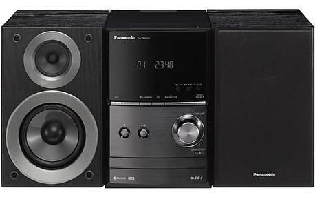 Mikrosystém Panasonic SC-PM600EG-K černá/hliník + DOPRAVA ZDARMA