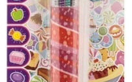 Vonící propiska s barevnými tuhami Candy