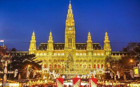 Celodenní zájezd pro 1 osobu do adventní Vídně a zámku Schönbrunn