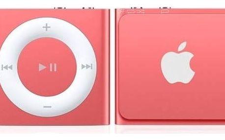 MP3 přehrávač Apple iPod shuffle 2GB (MKM72HC/A) růžový