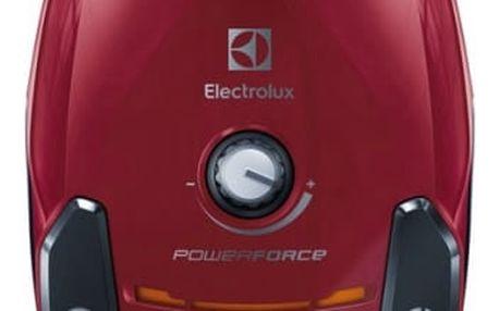 Vysavač podlahový Electrolux PowerForce EPF61RR červený