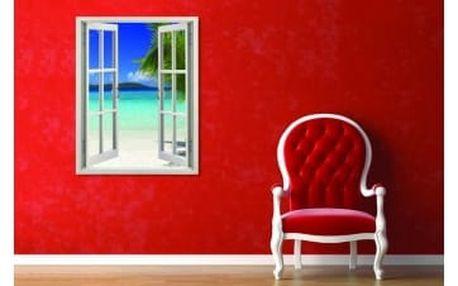 Živá dekorace na Okno - pohled na moře