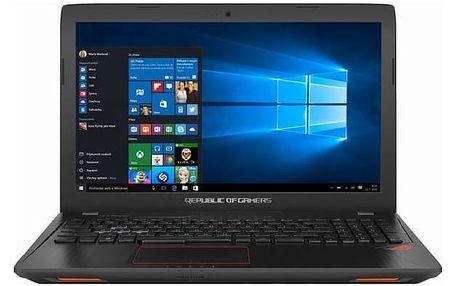 Notebook Asus ROG GL553VD-FY514T (GL553VD-FY514T) černý Software F-Secure SAFE 6 měsíců pro 3 zařízení (zdarma) + Doprava zdarma