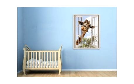 Živá dekorace na Okno - žirafa