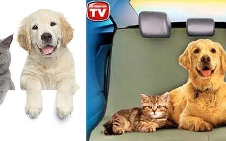Čistou jízdu pro Vás a Vašeho domácího mazlíčka se zvířecí dekou PET zoom.