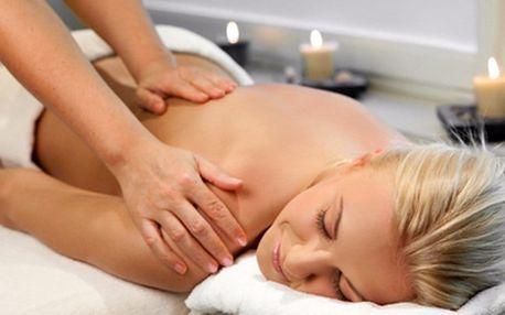 50minutová výjimečná masáž pro výjimečnou ženu