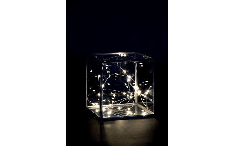 IB LAURSEN Světelný LED drátek s 20ti žárovkami, bílá barva