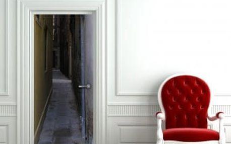 Živá dekorace na Dveře - ulička