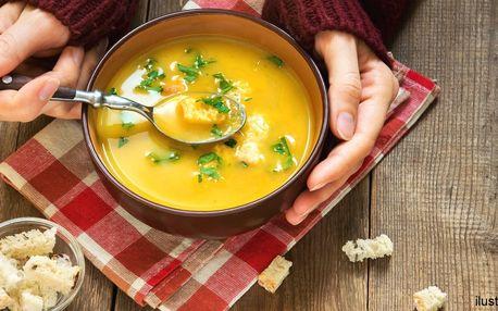 Polévka jako od babičky a gruzínský chléb