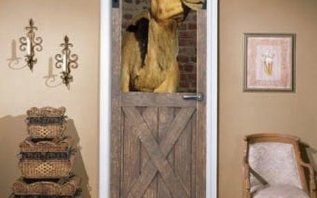 Živá dekorace na Dveře - velbloudí stáj