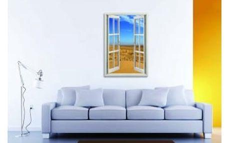Živá dekorace na Okno - poušť 2