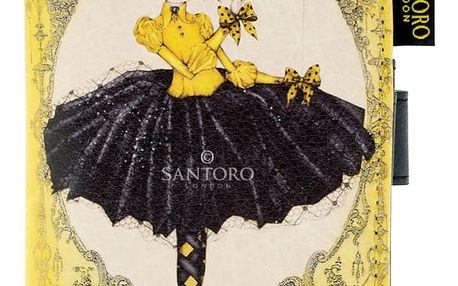 Santoro žlutá peněženka Mirabelle Marionette