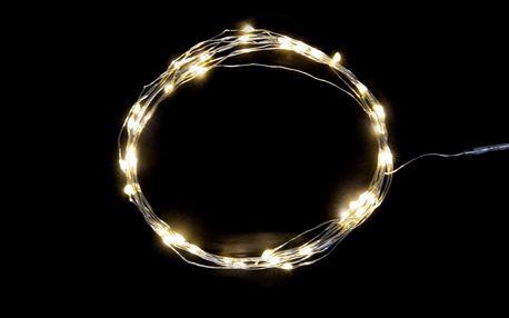 IB LAURSEN Světelný LED drátek s 40ti žárovkami, bílá barva