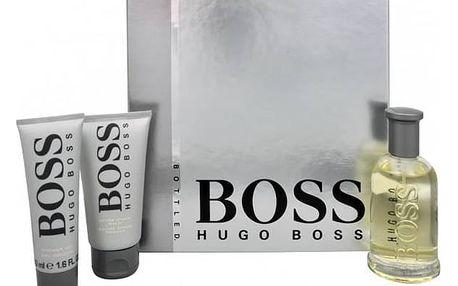 Hugo Boss No.6 EdT 100 ml + balzám po holení 75 ml + sprchový gel 50 ml dárková sada + Doprava zdarma