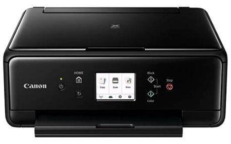Tiskárna multifunkční Canon TS6050 (1368C006AA) černá A4, 15str./min, 10str./min, 4800 x 1200, duplex, WF, USB