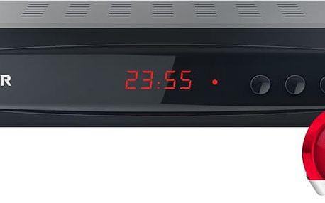 Sencor SDB 5002T, DVB-T2, černá