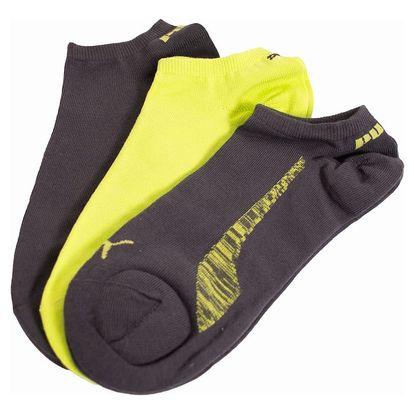 3PACK ponožky Puma Sneaker lime M