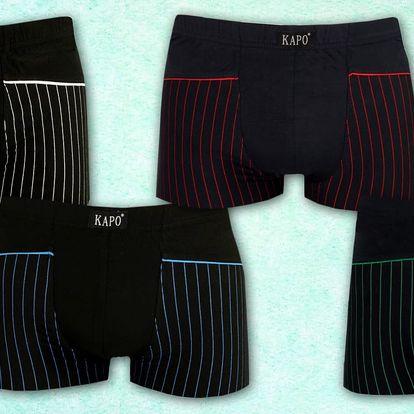 Balení pánských bavlněných boxerek