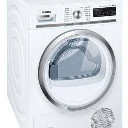 Sušička prádla Siemens WT47W540BY bílá