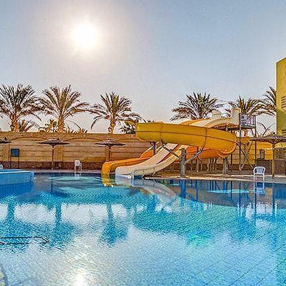 Hotel Palm Beach Resort, Hurghada, Egypt, letecky, all inclusive
