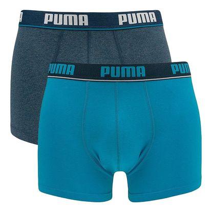 2PACK pánské boxerky Puma blue short S