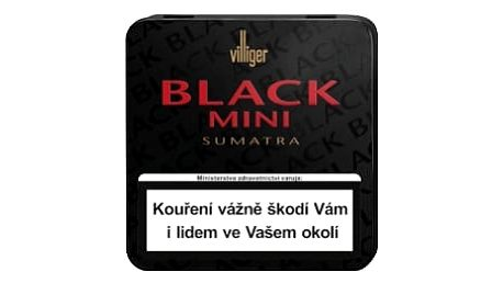 Doutníky Villiger Black Mini Sumatra 20ks SO
