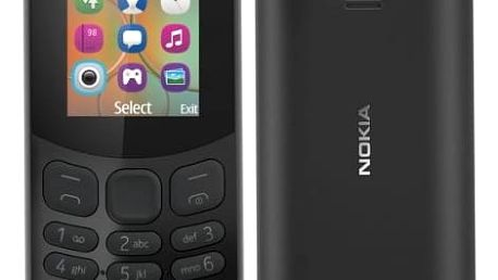 Mobilní telefon Nokia 130 Dual SIM 2017 (A00028518) černý